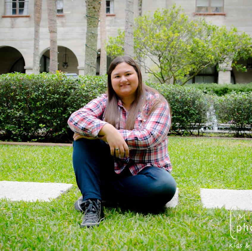 Senior Photo session St Augustine Florida