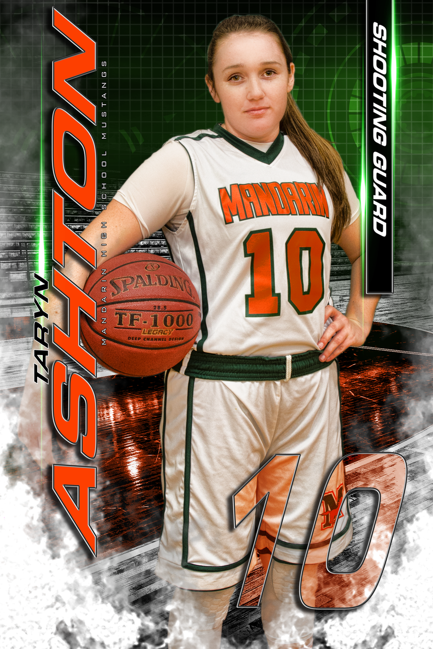 Mandarin High School Varsity Basketball Senior Class of 2017 Taryn Ashton