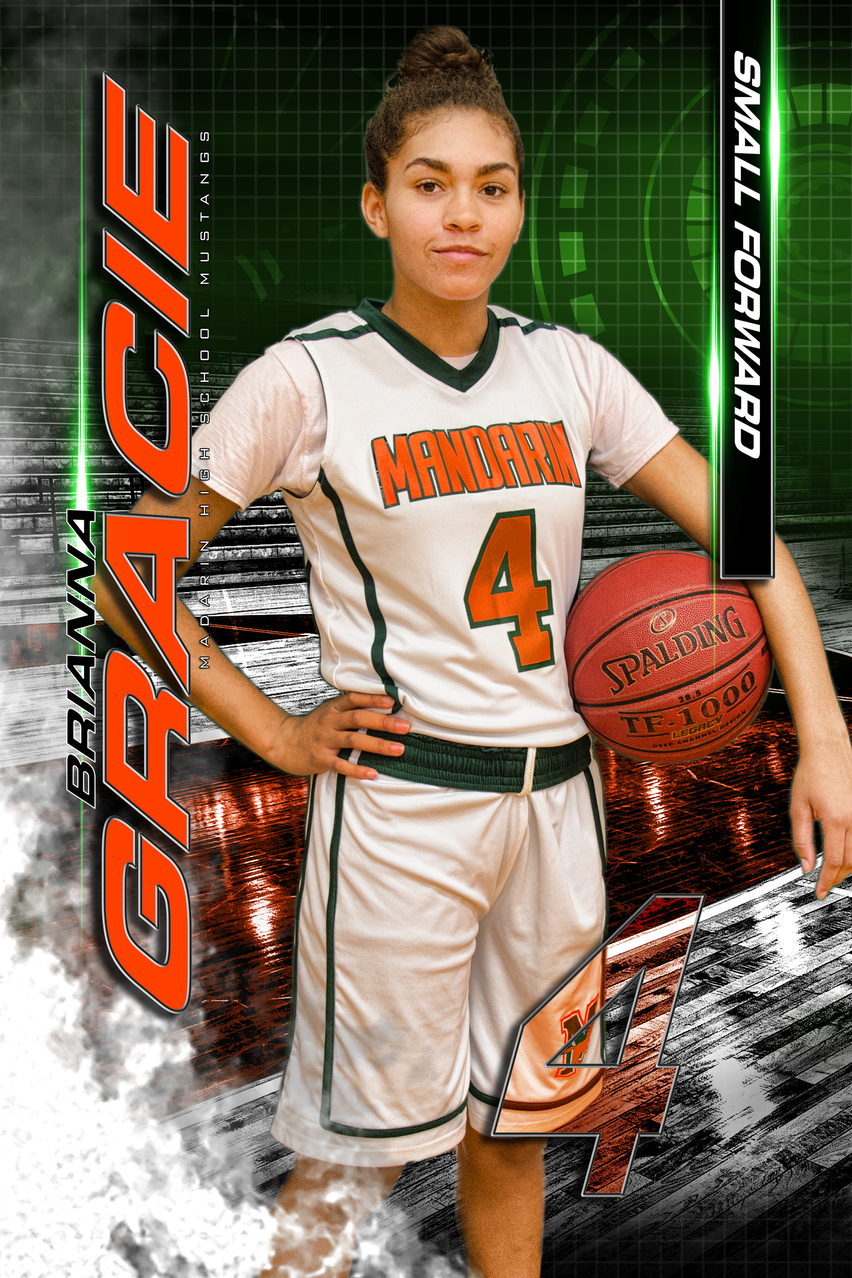 Mandarin High School Varsity Basketball Senior Class of 2017 Brianna Gracie