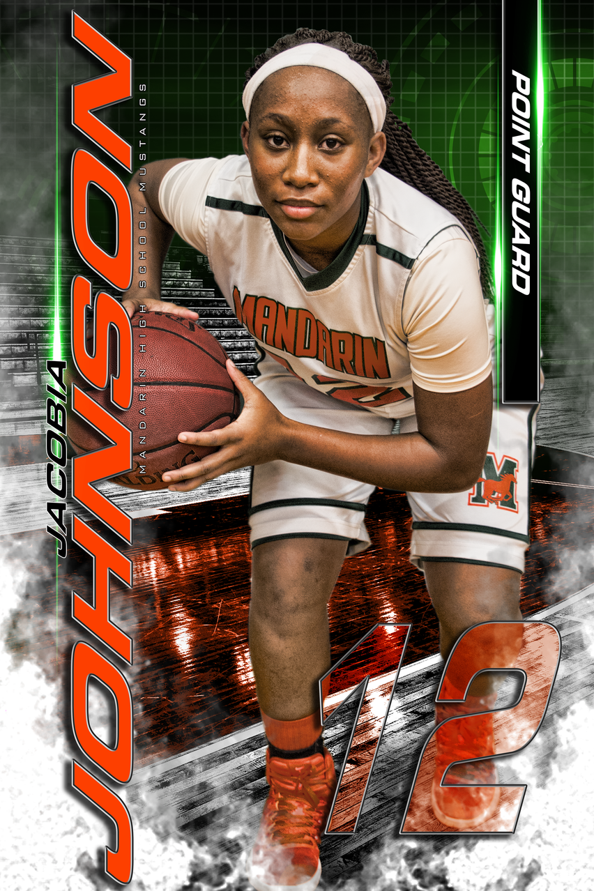Mandarin High School Varsity Basketball Senior Class of 2017 Jacobia Johnson