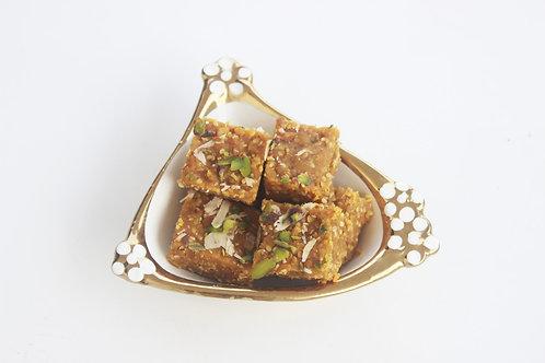 Moong Badam barfi