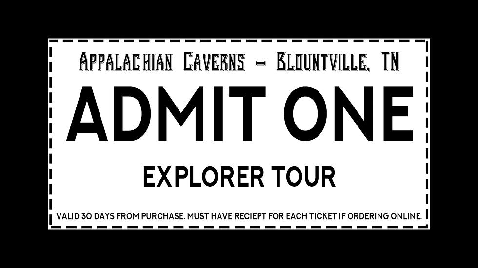 Explorer Tour All Ages