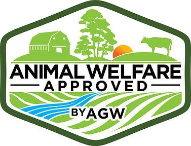 Animal Welfare Approved by AGW LOGO FINA