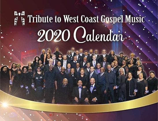 2020 West Coast Gospel Calendar