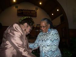Bettye Nelson and Margaret
