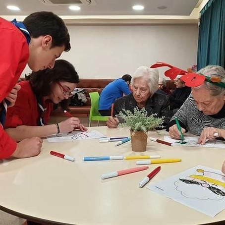 Οι Ανιχνευτές στο Κέντρο Φροντίδας Ηλικιωμένων «ΜΑΡΕΠΗ»