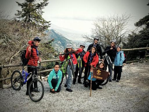 Πεζοπορία και mountain bike στην Πάρνηθα!