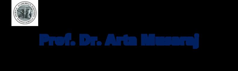 Profª Dr. Arta Musaraj