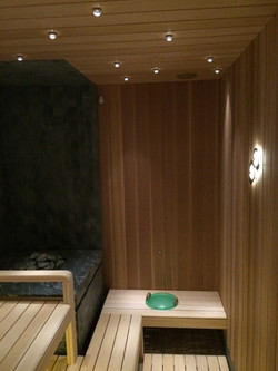 Премиум отделка бани