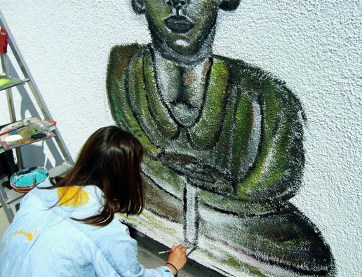 Wandmalerei 02