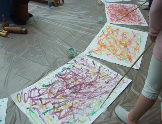 Malen und Rhythmus