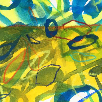 Leaf Matrix II (detail)