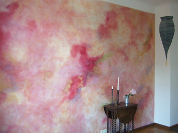 Wandgestaltung im Wohnbereich