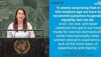 Disruptive Women Hit #UNGA73 in New York