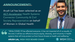 WGH joins the ACT-Accelerator