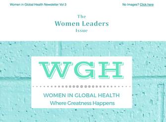 The Women Leaders Issue - November Newsletter