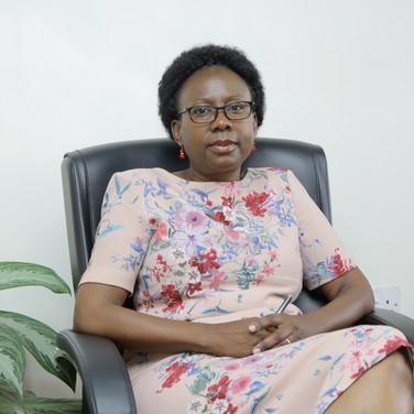 Honorable Minister Dr. Jane Ruth Aceng, Uganda
