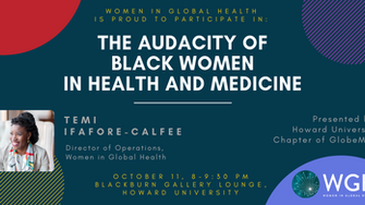 The Audacity of Black Women in Health and Medicine: Event Report