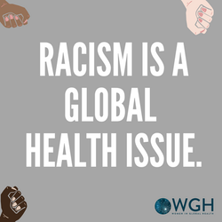 Racism is a Global Health Issue.