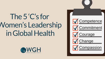 A Fireside Chat: The 5 'C's for Women's Leadership in Global Health - Lived Experiences