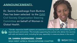WGH joins the GAVI CSO Steering Committee