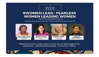 When Fearless Women Lead Women: Africa's Endless Possibilities for Women Leadership