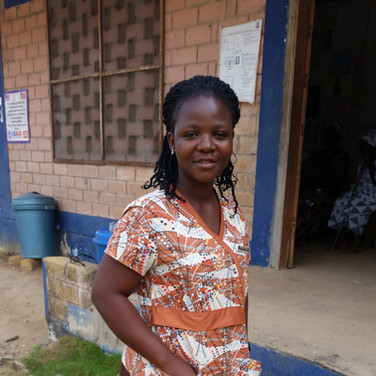 Albertha Freeman, Liberia
