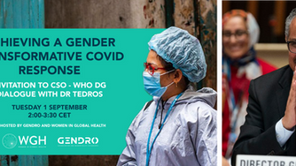 Achieving a Gender Transformative COVID-19 response