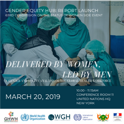 Delivered by Women, Led By Men Report (2019)