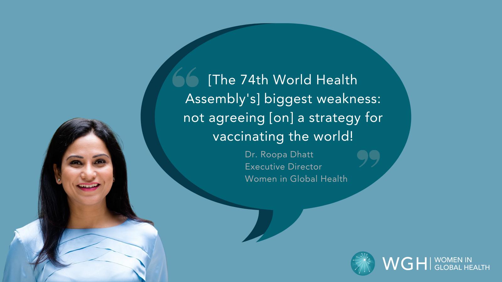 Vaccine Equity