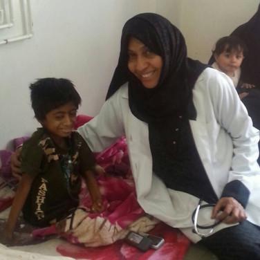 Dr. Najla Al-Sonboli, Yemen