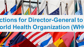 Learn about the WHO-DG Election and cast your own vote with us