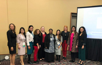 """The Gender Agenda at the Annual APHA 2019 Conference on """"Creating the Healthiest Nation: For sc"""