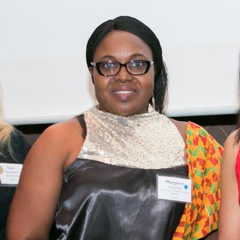 Margaret Gyapong, Ghana