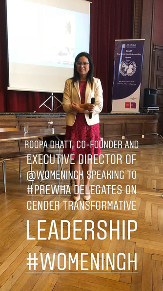 Women's Leadership in Global Health at the Youth Pre-World Health Assembly