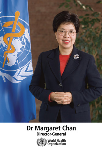 A Special Acknowledgement, A Farewell to Dr. Margaret Chan