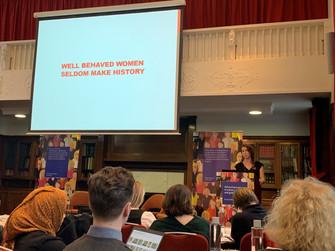 A Milestone Moment: Well-Behaved Women Seldom Make History (And Disruptive Women Seldom Make it into