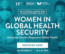 Women in Global Health Security Summit
