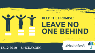 On UHC Day 2019  Women and Global Health Calls on Governments to  Keep the Promise on Gender Equalit