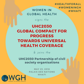 WGH Joins the Universal Health Coverage 2030 (UHC2030) Global Compact and Movement
