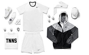 textile,polo,t-shirt,short,pantalon,veste,tennis,rennes,nike,adidas,federer,nadal,new balance,lotto,