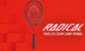 raquette head radical rennes bretagne ex