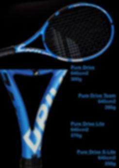 raquette,tennis,rennes,35,bretagne,babolat,pure drive,fognini,muguruza