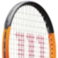 raquette tennis wilson burn halep orange