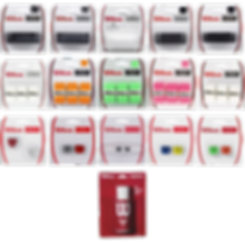 accessoires,wilson,tennis,rennes,bretagne,surgrips,grip,gel anti transpiration,noir,blanc,blade,burn,pink,rose