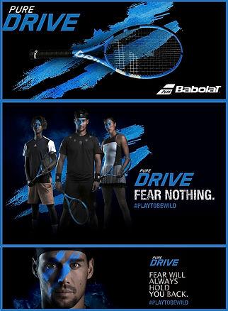 raquette tennis babolat rennes pure driv