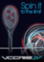 raquette,tennis,rennes,35,bretagn,yonex,vcore sv,shapovalov,garcia,kerber,rouge,noire
