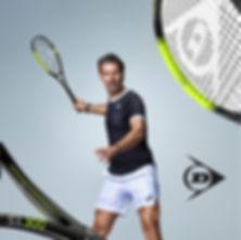 raquettes tennis dunlop rennes mouratogl