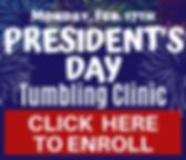 WEB SQUARE President's Day Tumbling Clin