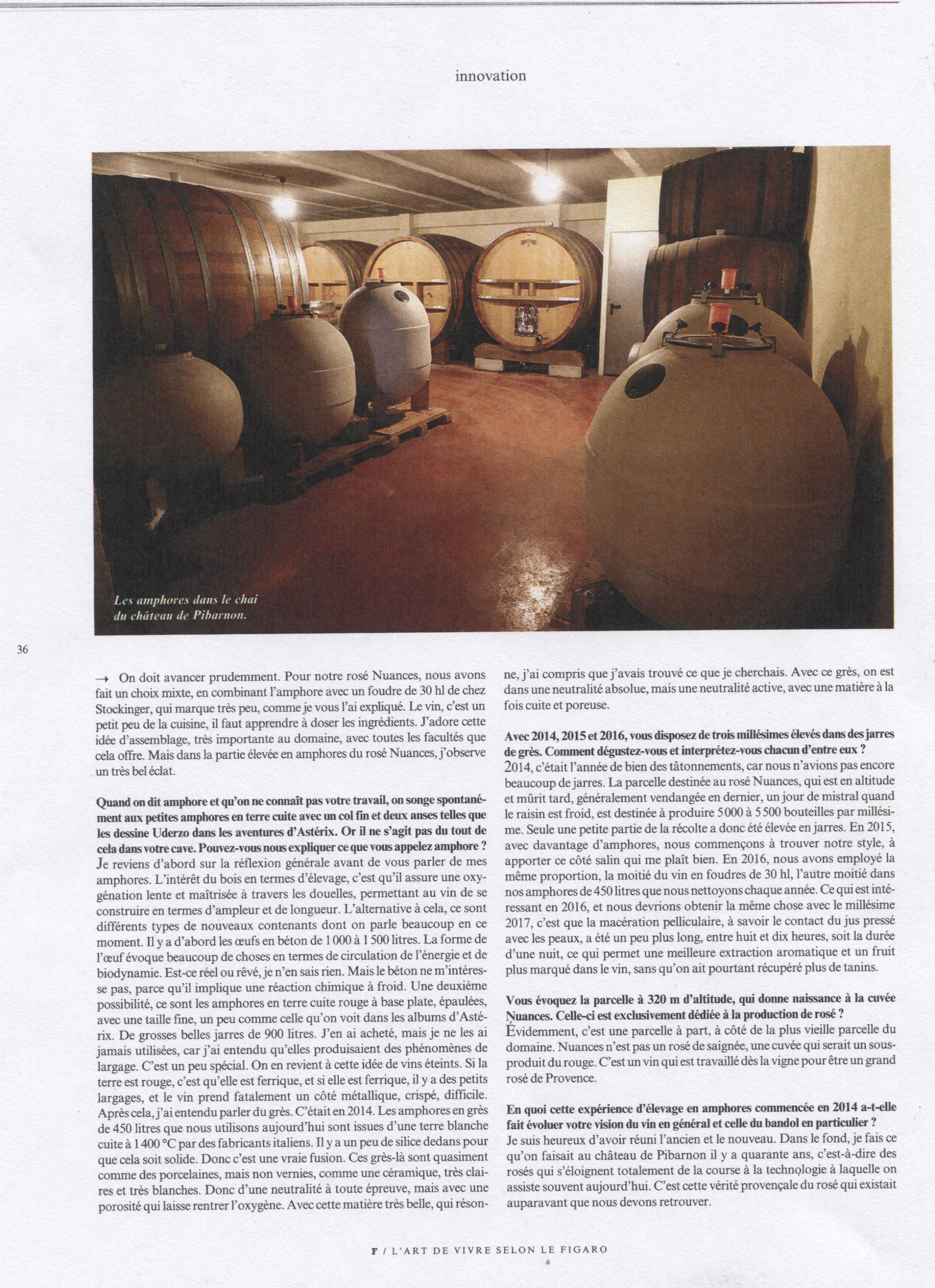 LE FIGARO EDITION SPECIAL VIN P7